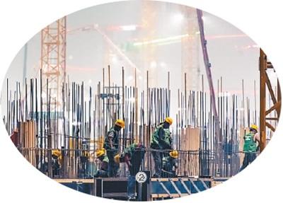 雄安新区是数字人民币试点地区之一。图为雄安新区建设工地。  刘帅冶摄(人民视觉)