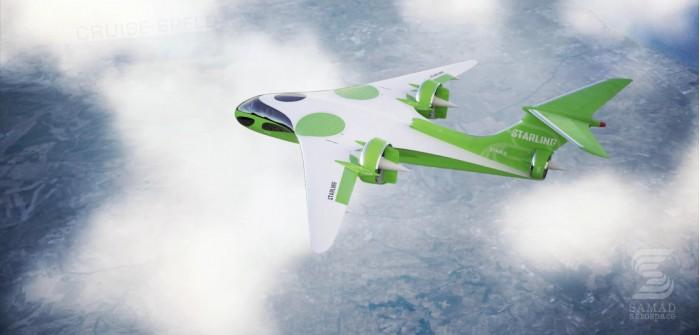 Samad Aerospace展望高速、长续航里程的混动VTOL喷气式飞机
