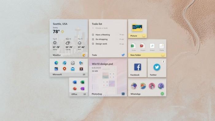 设计师打造精致Windows 10桌面体验:优化动态磁贴等