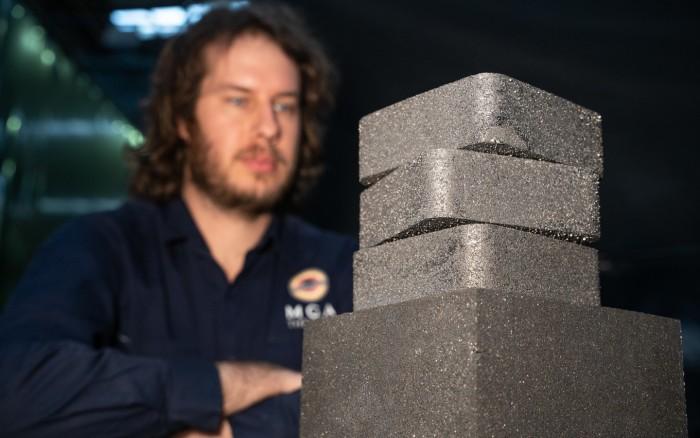 工程师提出一种新型储能系统,设计由高导热性材料制成的合金砖块储能
