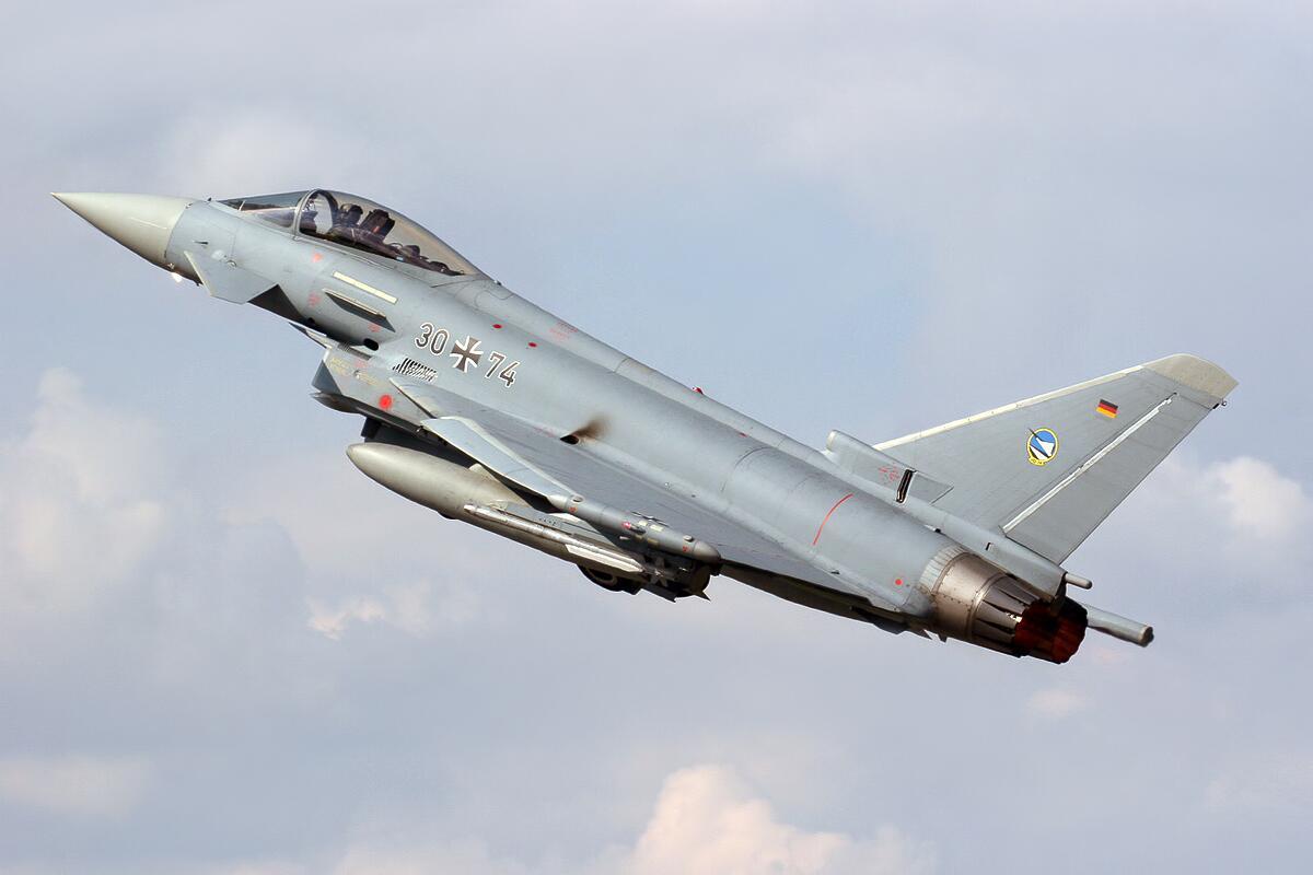 德國空軍戰斗機將首次在愛沙尼亞上空進行飛行訓練