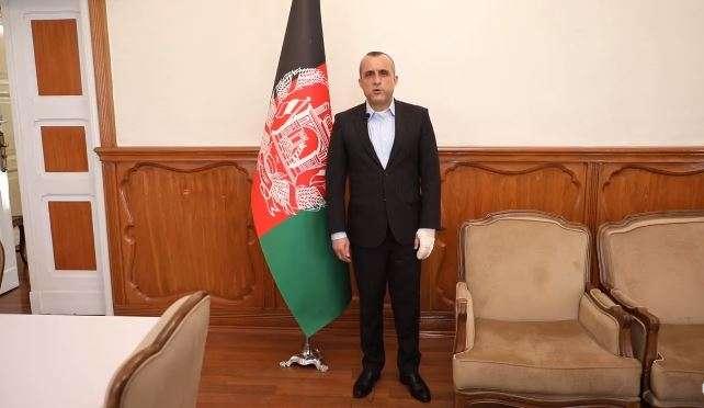 △阿富汗第一副总统萨利赫