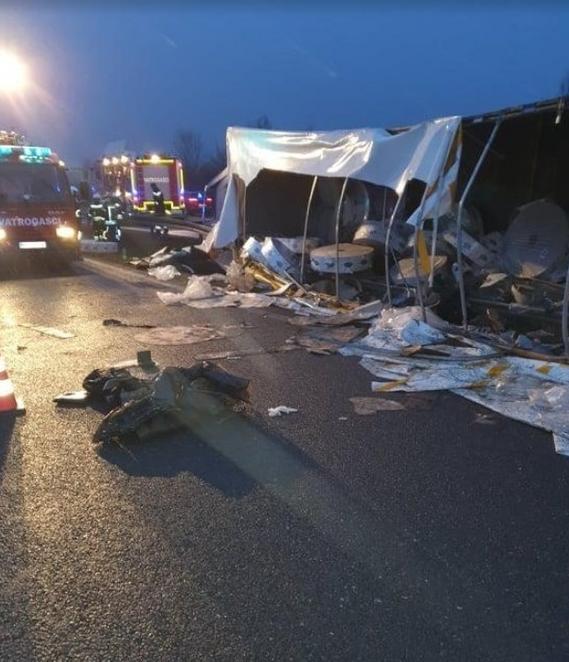 克罗地亚发生卡车翻车事故 致4人死亡多人受伤