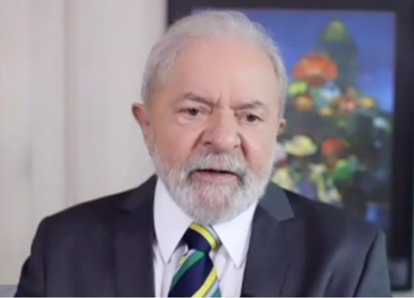 △卢拉接受葡萄牙广播电视公司采访视频截图