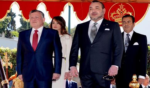 △约旦国王阿卜杜拉二世(左)和摩洛哥国王穆罕默德六世(右)资料图