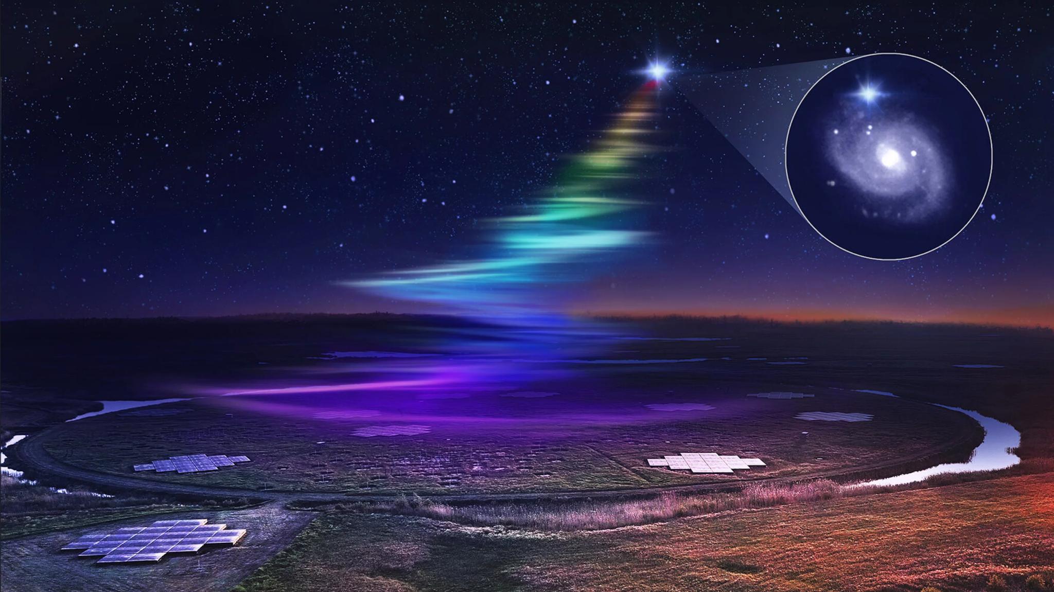 天文学家从神秘FRB中发现了新频率:迄今探测到过的最低辐射