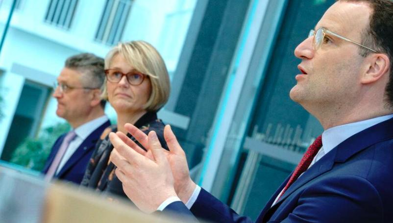 德国卫生部长:德国疫情形势好转 依旧不能掉以轻心
