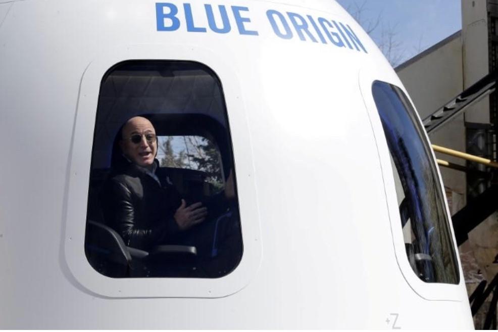 2800万美元观光3分钟 贝佐斯太空之旅同舱船票拍卖结果出炉