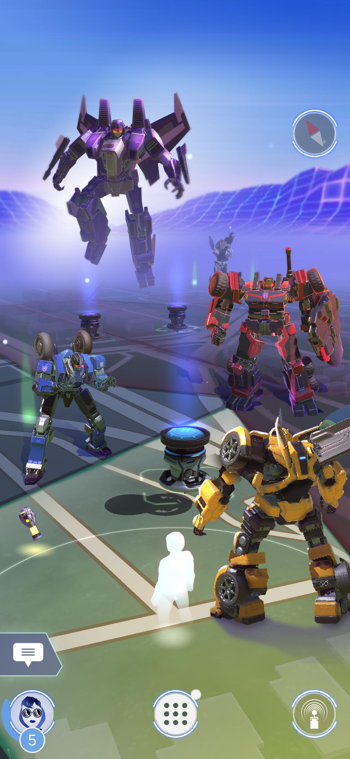 《精灵宝可梦Go》的开发商Niantic正在制作一款变形金刚游戏