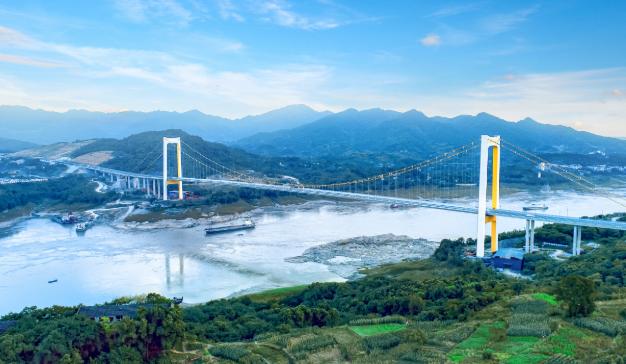又一座!重庆长寿经开区大桥顺利建成通车