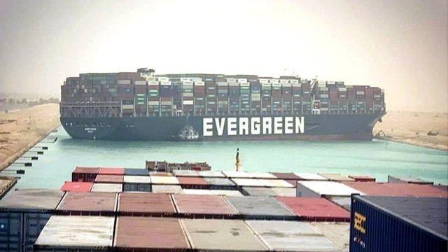 """苏伊士运河管理局与""""长赐""""号船东达成原则性和解协议"""