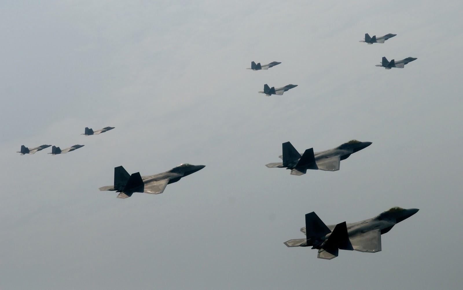 美军在中国周边又有大动作,美媒:正向西太派出25架隐形战斗机