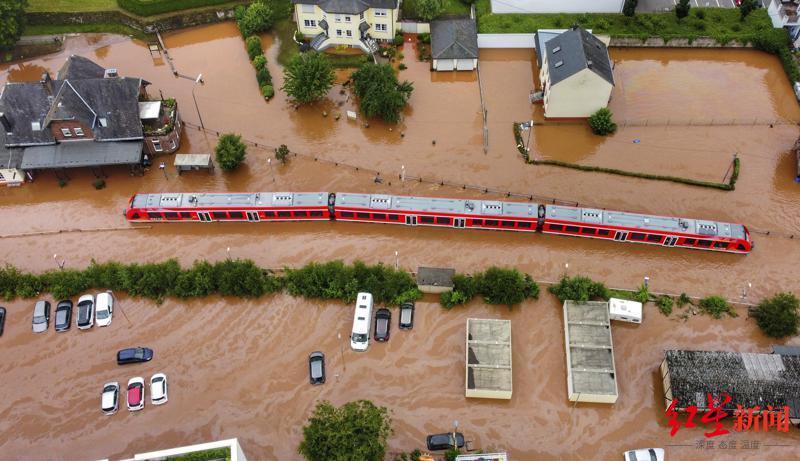 就像下了一个世纪的雨 最牛德国下水系统都无能为力:超80人死亡、上千人失踪