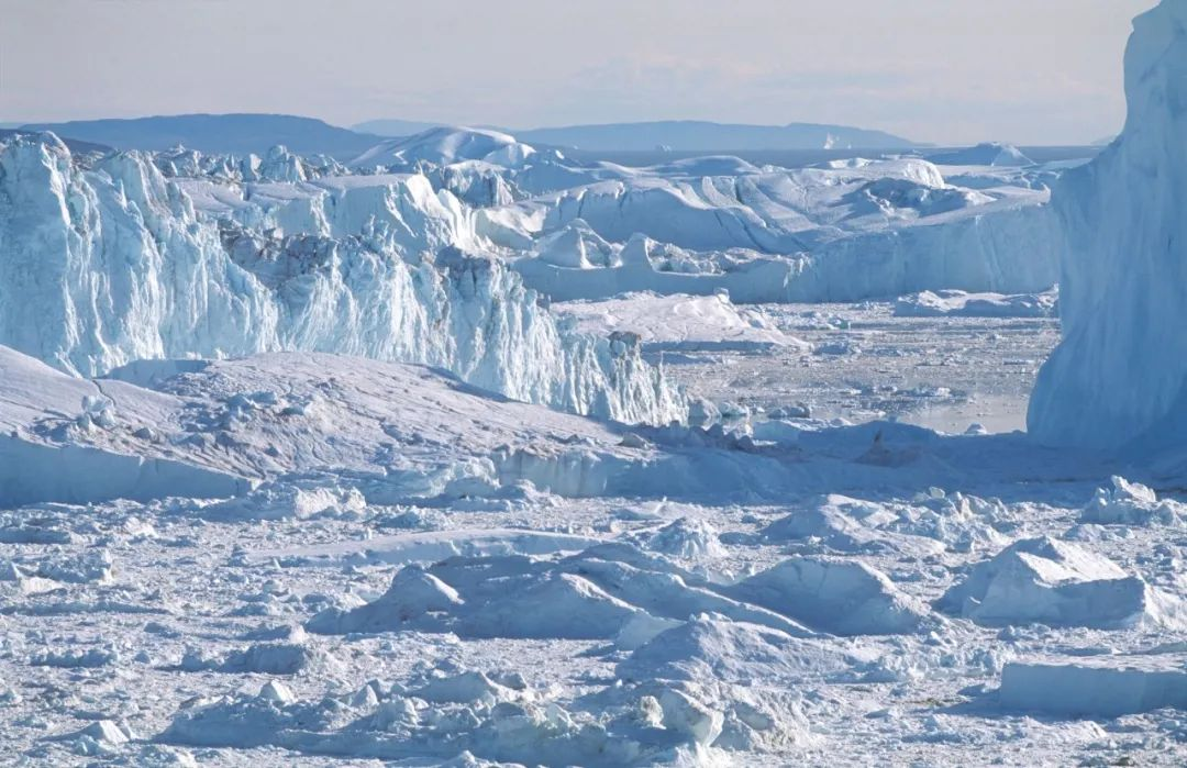 格陵兰岛迪斯科湾冰川(图片来源:摄图网)