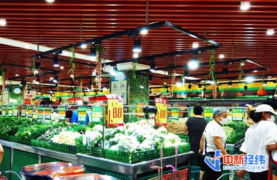 资料图:超市购物。中新经纬 张燕征 摄