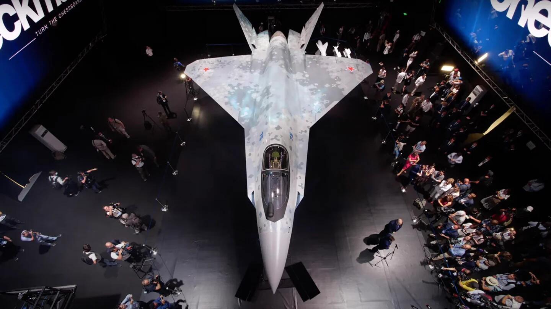 正式亮相的俄罗斯新型五代机