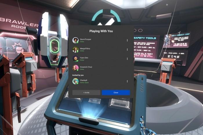 Oculus Quest迎来v31软件更新 邀请好友更加轻松