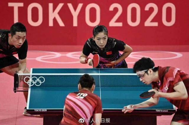 """""""昕雯""""这对乒乓组合意外落败后,中国人的反应让日媒更意外!"""