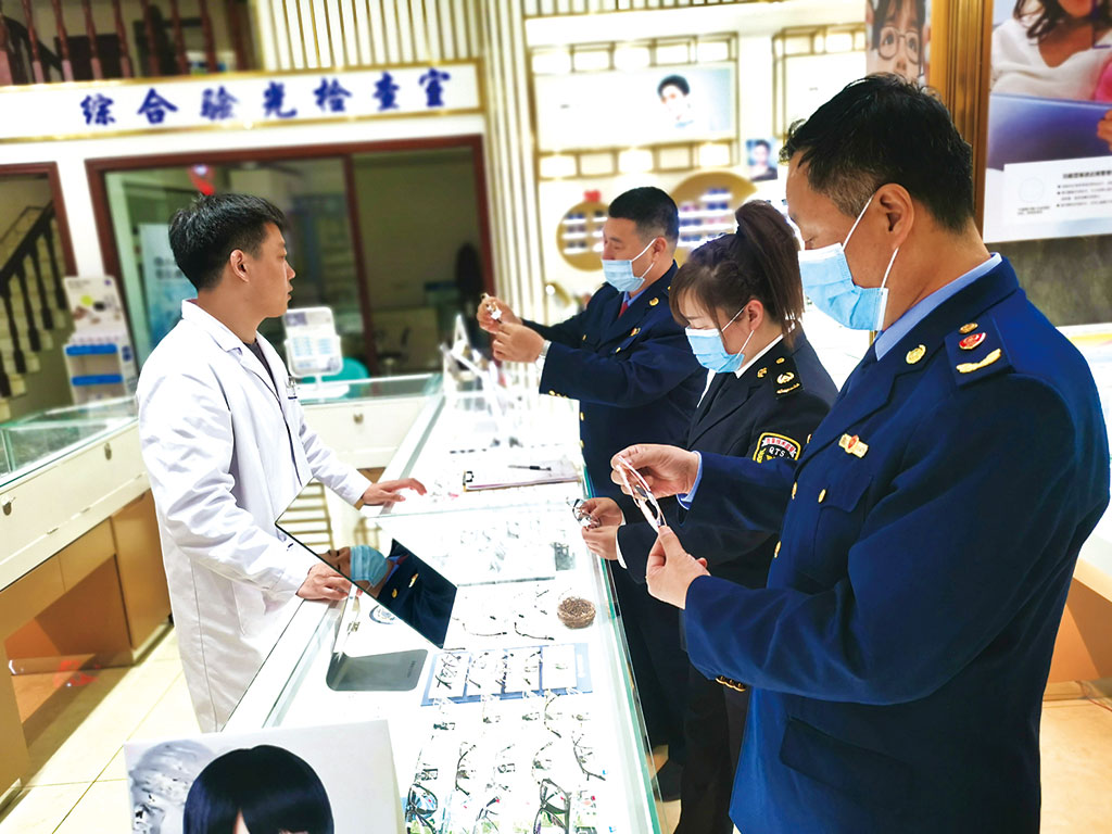 内蒙古自治区呼伦贝尔市市场监管局在全市范围内开展眼镜制配场所计量专项检查