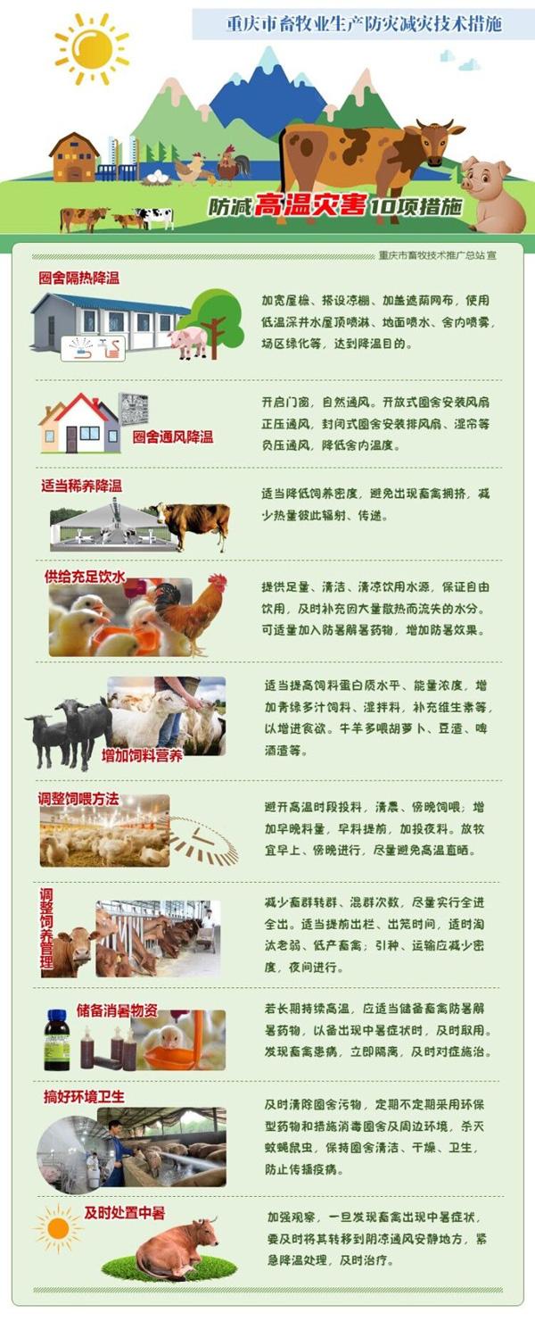 重庆市畜牧业生产防灾减灾技术措施(图解)