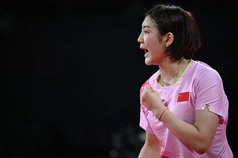 第15金!陈梦夺得东京奥运会乒乓球女子单打金牌 孙颖莎获得银牌