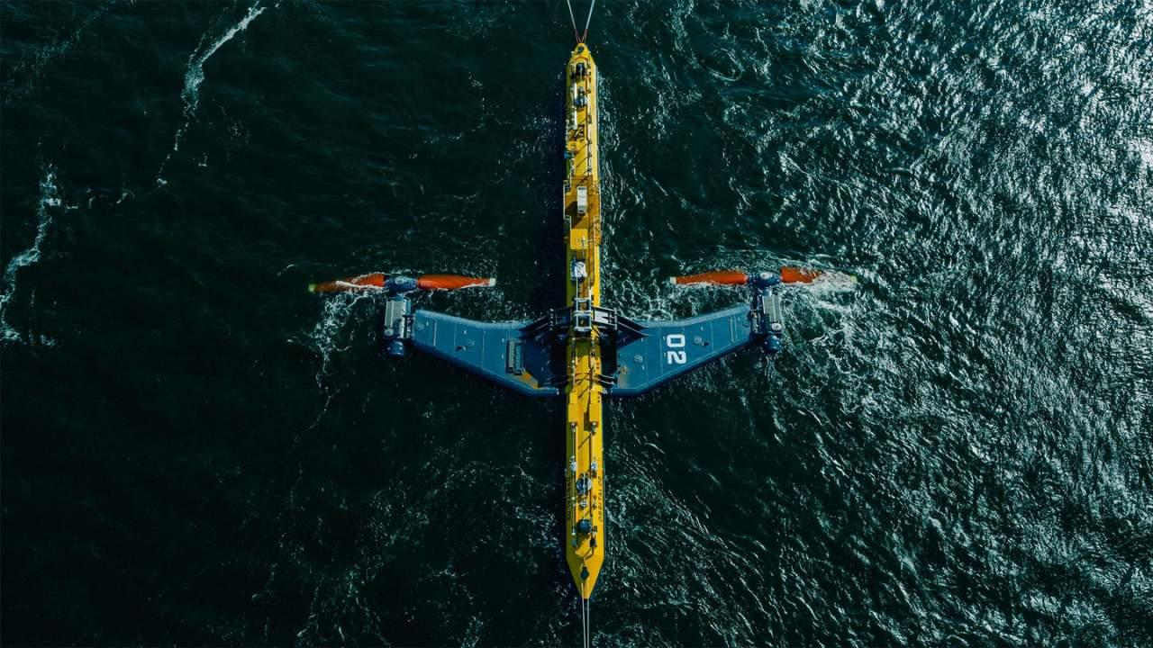 Orbital Marine Power海上涡轮机O2开始并网发电