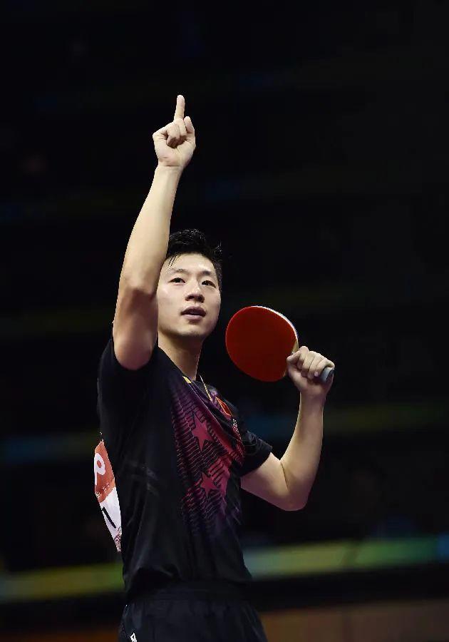 ·2015年,马龙终于在苏州拿到世乒赛冠军。图源:新华社