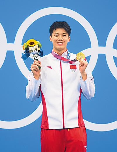 中国体育代表团连创佳绩