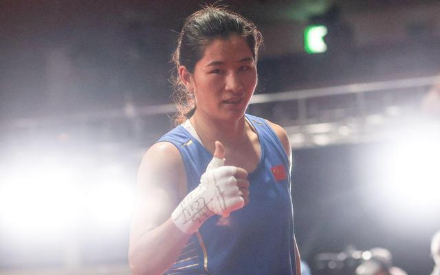李倩晋级女子拳击中量级4强