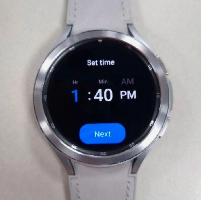 [图]三星Galaxy Watch 4 Classic真机谍照曝光