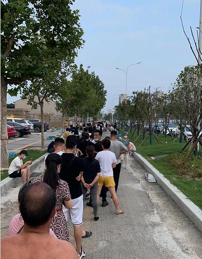 郑州部分区域暂停新冠疫苗接种