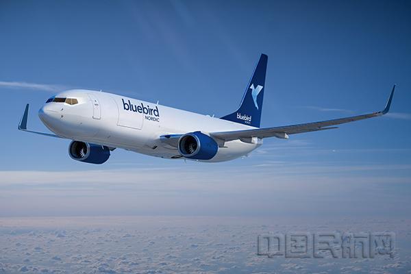 蓝鸟北欧航空计划2024年前新增25架波音B737-800货机