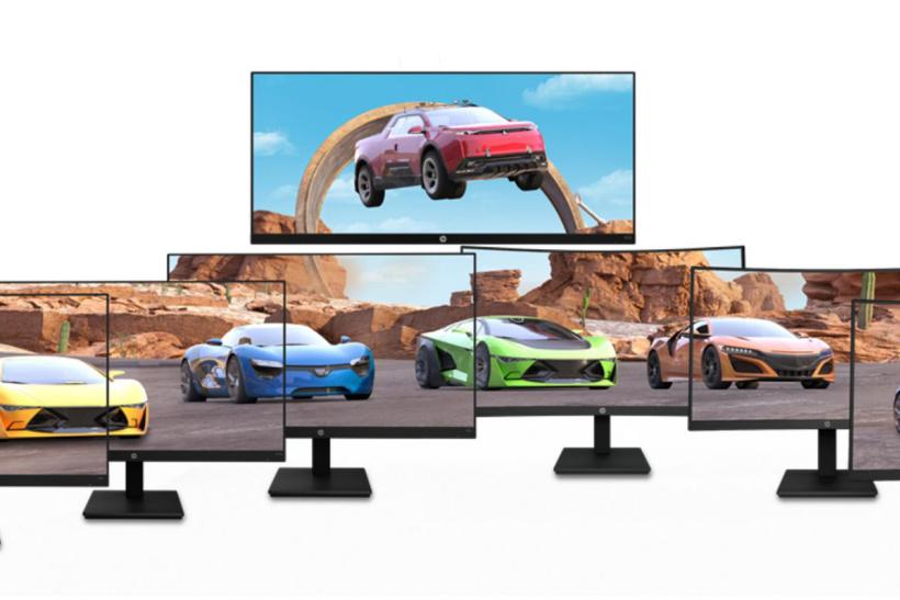 惠普一口气推出七款游戏显示器:平面、曲面应有尽有