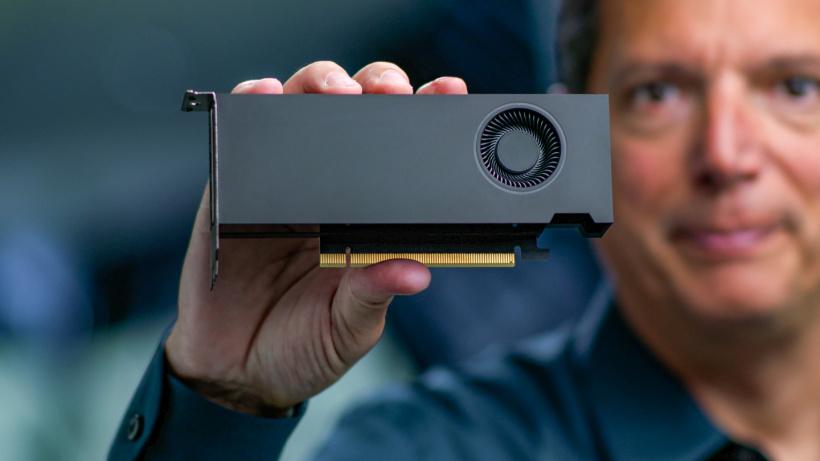 """英伟达推出RTX A2000专业卡:70W的""""3060刀卡"""",十月上市"""
