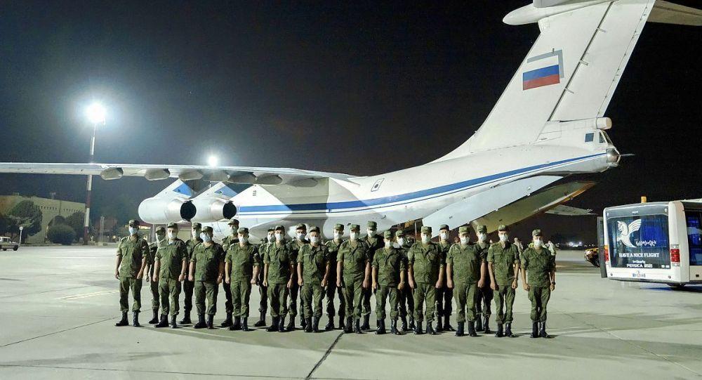 """俄军精锐部队远赴伊朗参加国际军事比赛""""枪械大师"""""""