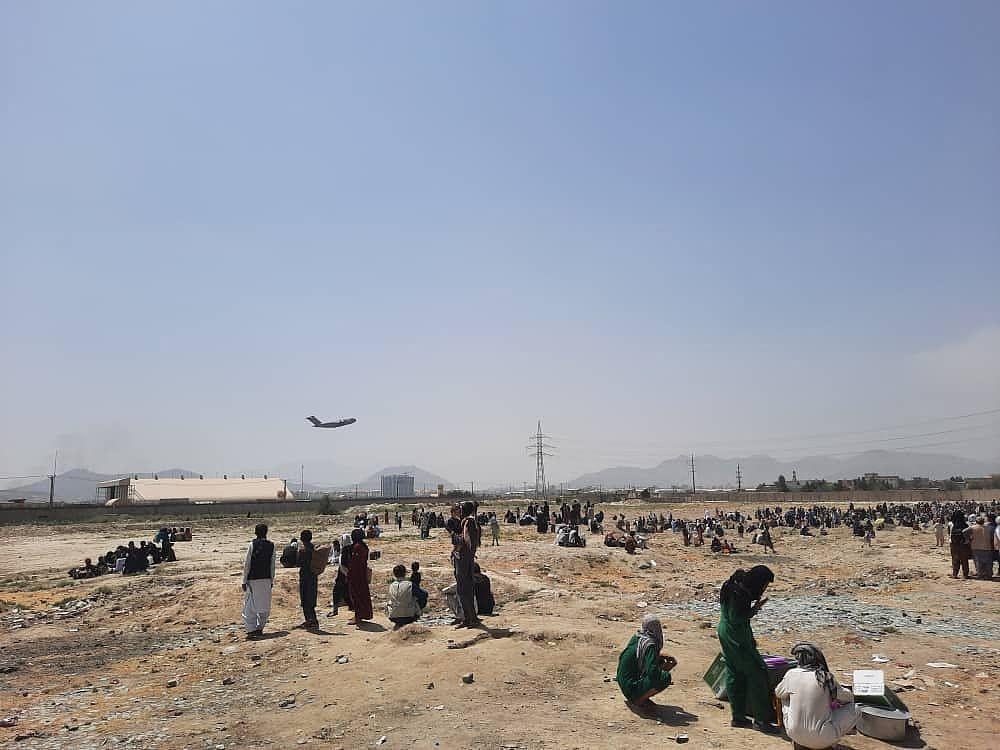 喀布尔机场(资料图)