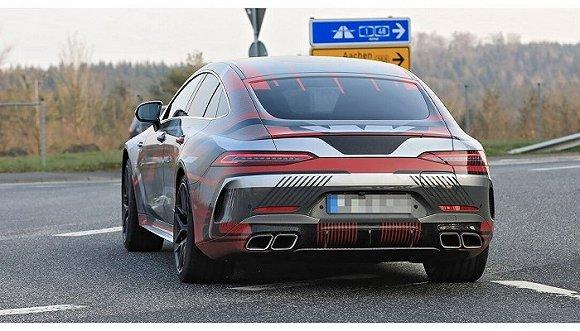 史上最强AMG GT要来 轻度伪装车现身纽博格林