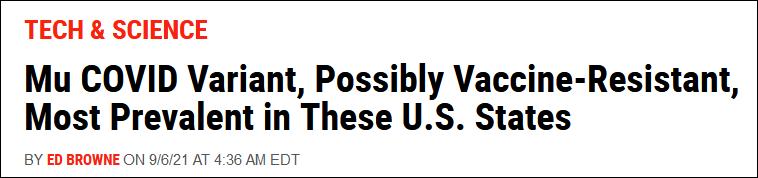 《新闻周刊》:可能具备更强耐药性的缪变种在这些州最普遍