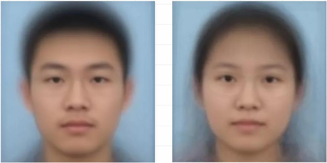 """2019年新生""""平均臉"""""""