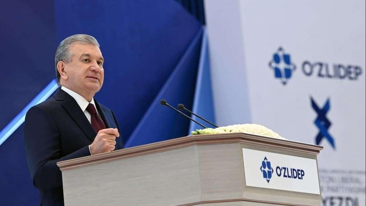 乌兹别克gdp_乌兹别克斯坦自由民主党推举现总统米尔济约耶夫参加总统大选