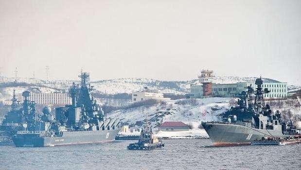 俄罗斯将在北极大规模军演 近50艘军舰120架飞机参加
