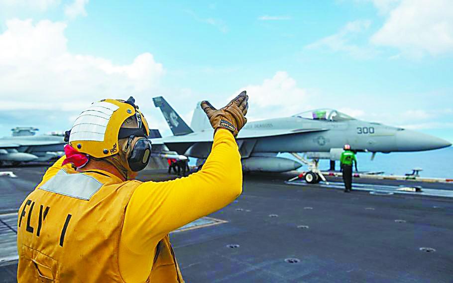 美航母首次搭载F35C进入南海 专家:掀不起大风浪