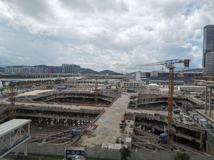 横琴建设施工项目。
