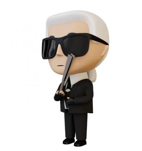Karl Lagerfeld推出首款NFT产品,发布后49分钟内售罄