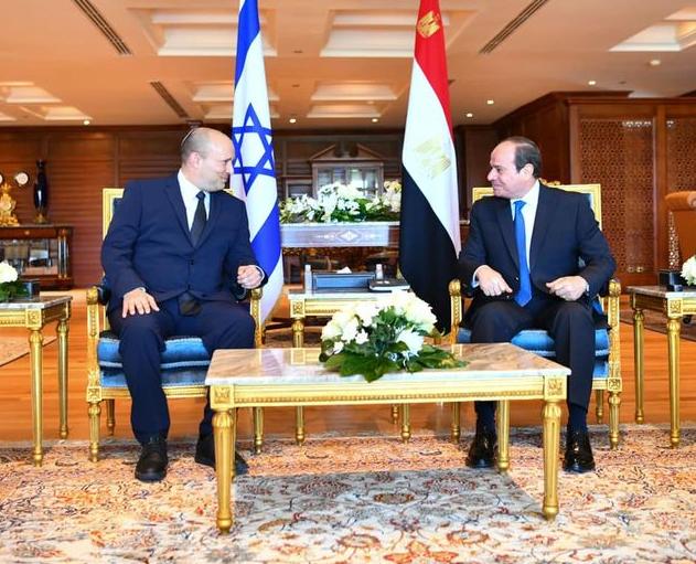 △图片来源:埃及总统府发言人巴萨姆·拉迪社交媒体