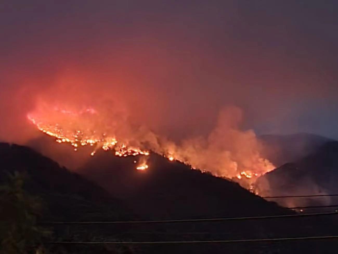 西班牙马拉加省山火已得到控制 共烧毁约10000公顷土地