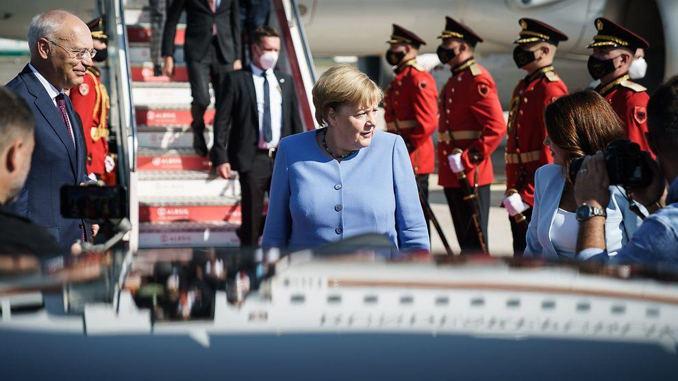 德国总理默克尔访问西巴尔干地区 称该地区国家加入欧盟符合利益
