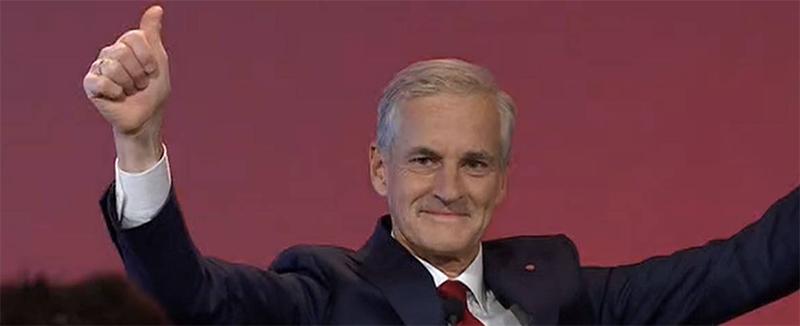工党领袖斯特勒有望成为挪威新首相