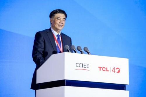 中国国际经济交流中心常务副理事长、国家发展改革委原副主任张晓强致辞