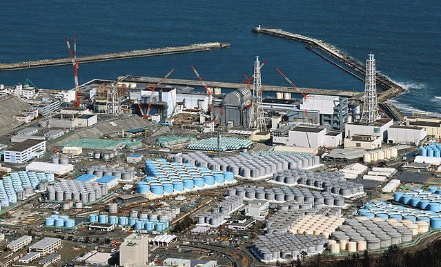 福岛第一核电站资料图